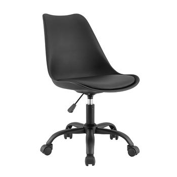 Northern European Plastic Chairs With Wheels PP-2501-5