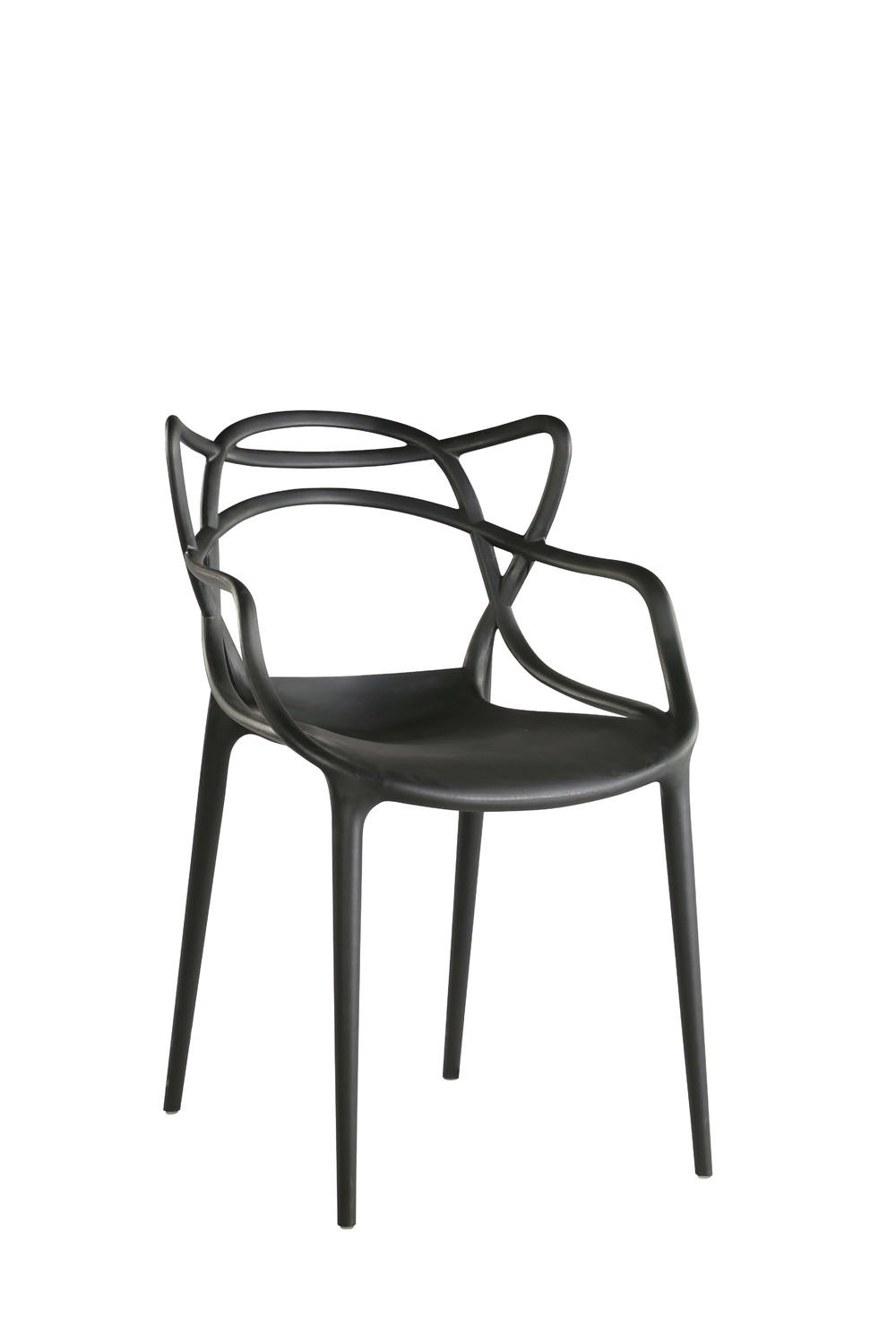 Modern simple plastic dining chair PP-601