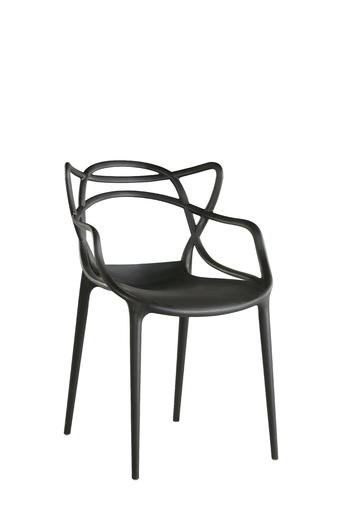 Modern simple plastic dining chair