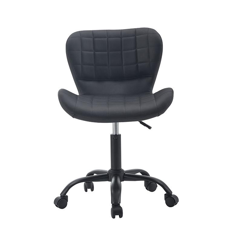 Upholstered Velvet Swivel Computer Office Chair
