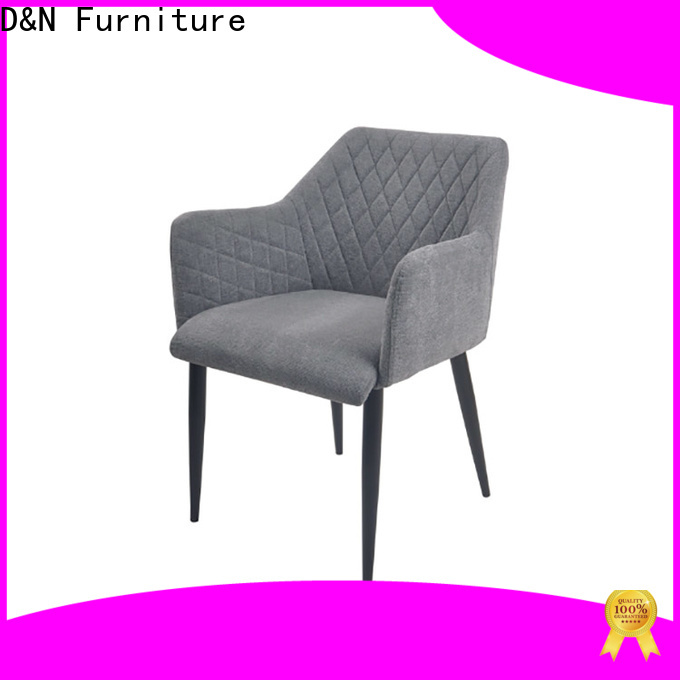 D&N Furniture fabric dining room chairs factory price for restaurant