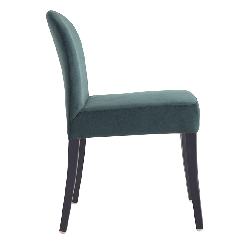 Factory Price Cheap Modern Fabric comfortable fabric dining room chair dining